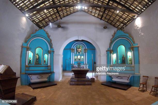 Church in Trancoso , Bahia , Brazil