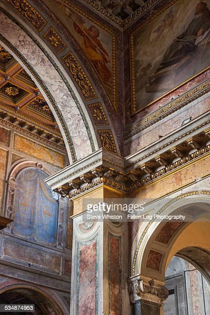 Church Interior - St Maria in Trastevere Basilica