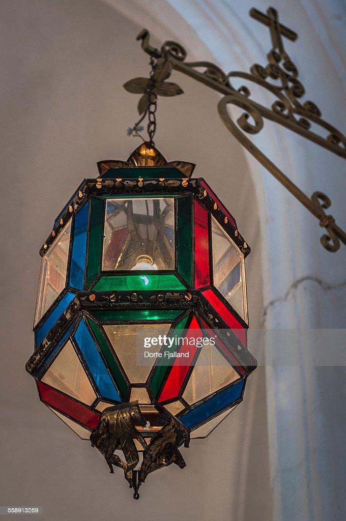 Church lamp : Stock-Foto