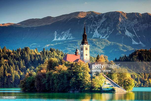 Church of Assumption on Lake Bled