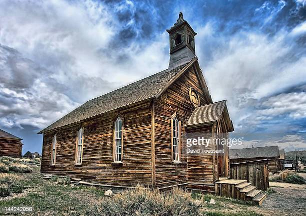Church of Bodie Ghost Town