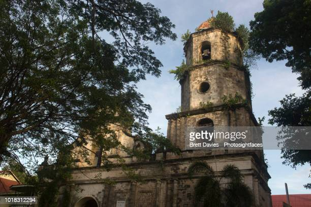 church of dauin - negros oriental stock pictures, royalty-free photos & images