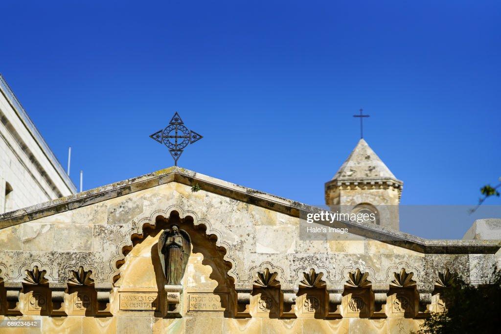 Church of Flagellation; Jerusalem, Israel : Stock Photo