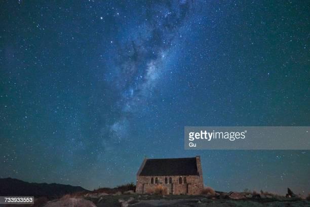 Church of Good Shepherd, Lake Tekapo, New Zealand