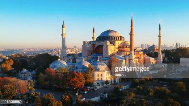 church of hagia sophia, istanbul, turkey - hagia sophia stock pictures, royalty-free photos & images
