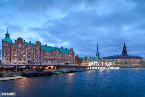 church of holmen, copenhagen - christiansborg palace stock pictures, royalty-free photos & images
