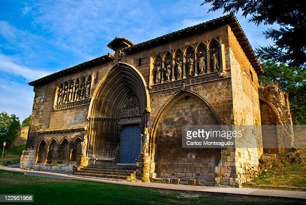church of holy sepulchre - comunidad foral de navarra fotografías e imágenes de stock