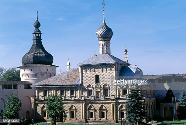 Church of Holy Virgin Hodegetria Rostov Kremlin RostovVeliky Russia 17th century