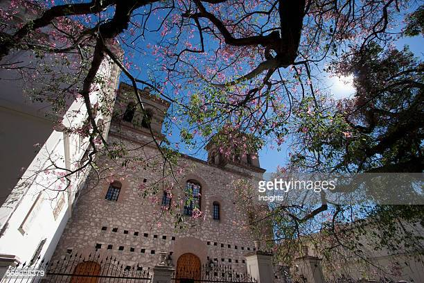 Church of La Compania in the 'Manzana Jesuítica' of the City of Cordoba Argentina