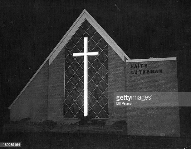 JUN 1 1966 JUL 16 1966 'Church of Lighted Cross' When the Valley Highway's West 48th Avenue segment of Interstate Highway 70 opened this month night...