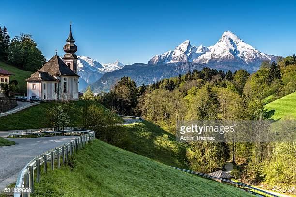 Church of Maria Gern - Berchtesgadener Land - Bavaria - Germany