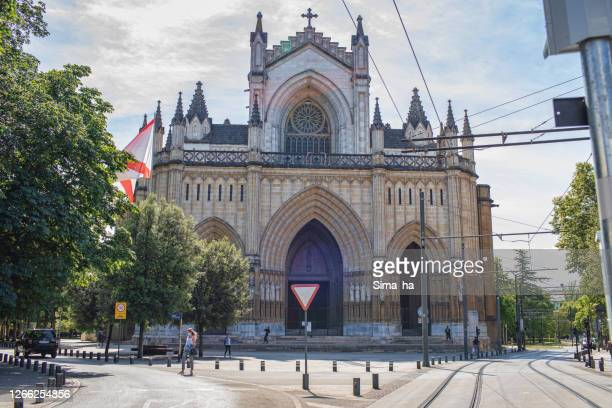 ヴィトリア・ガスタイズのマリア・インマクラーダ教会 - アラバ県 ストックフォトと画像