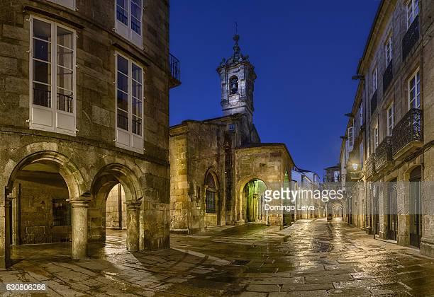 Church of Maria Salome, Old Town of Santiago de Compostela