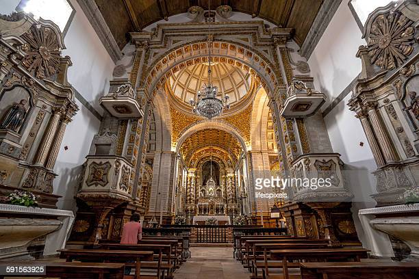 church of nossa senhora da nazaré - lifeispixels stock pictures, royalty-free photos & images