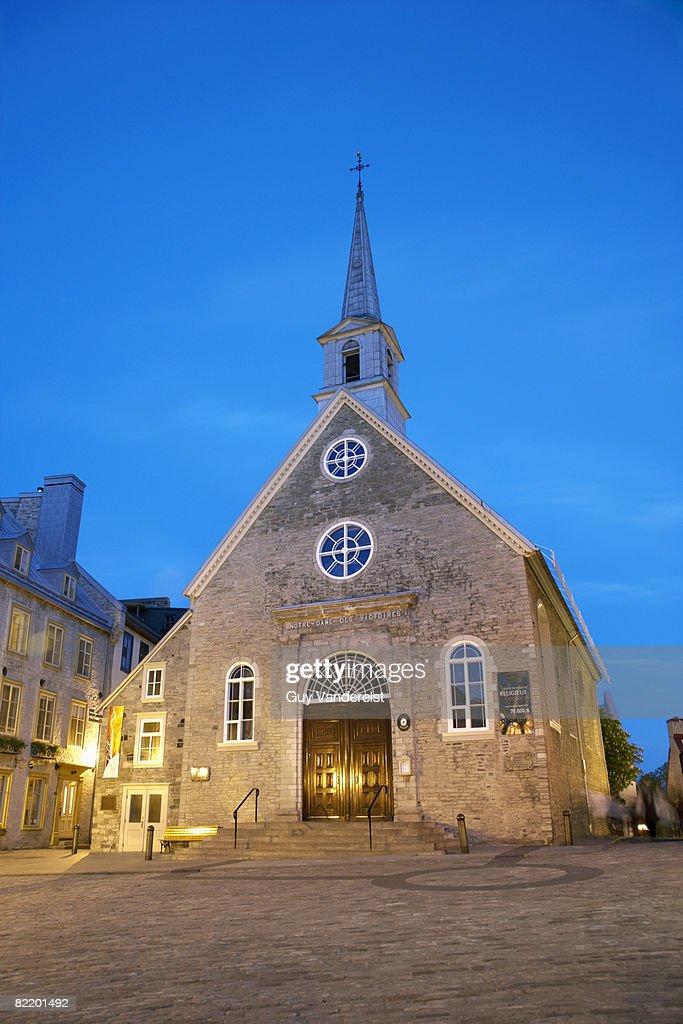 Church of Notre-Dame-des-Victoires : Foto de stock