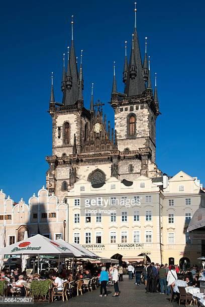 Church of Our Lady before Tyn in Staromestske Namesti in Prague