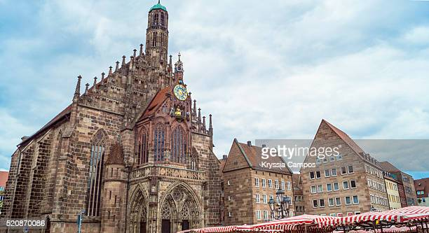 Church of Our Lady, Frauenkirche, Market Square (Hauptmarkt)