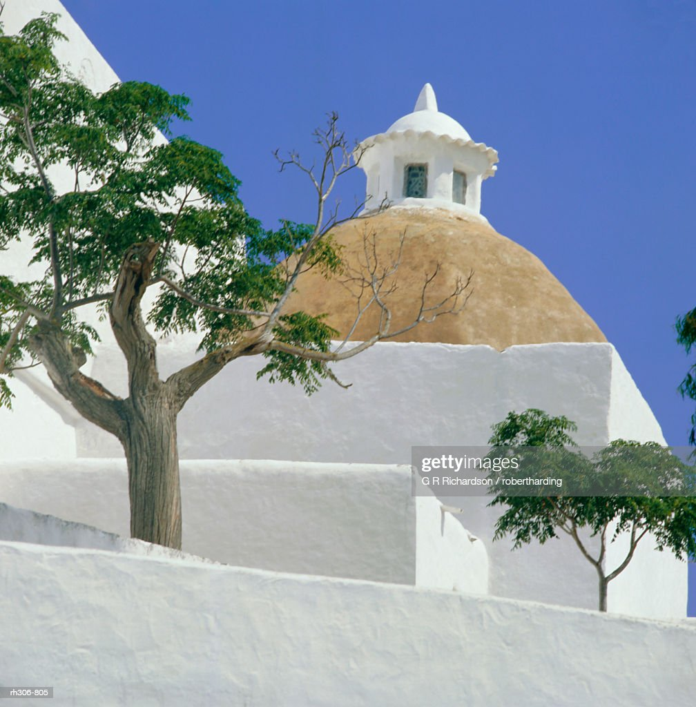 Church of our Lady of Jesus, Santa Eulalia, Balearic Islands, Spain, Europe : Stockfoto