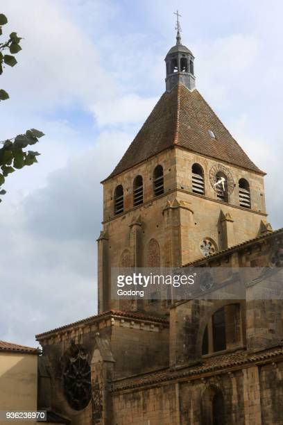 Church of Our Lady. XIII th century. Cluny. France.