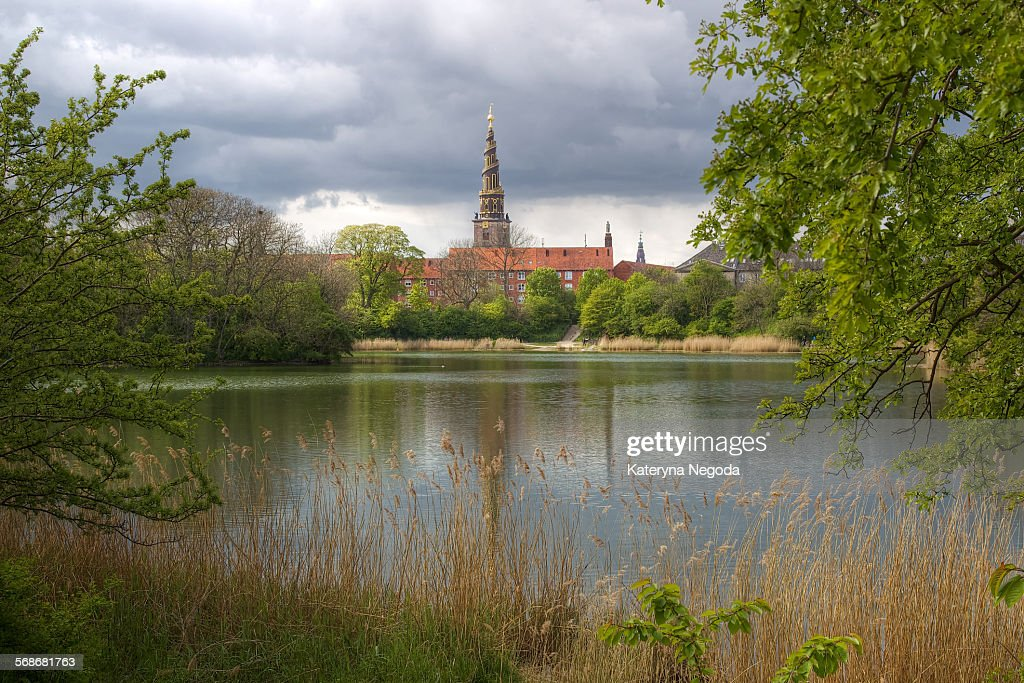 Church of Our Saviour, Copenhagen, Denmark : Stock Photo