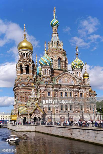 church of our saviour on the spilled blood - jesus blood stock pictures, royalty-free photos & images