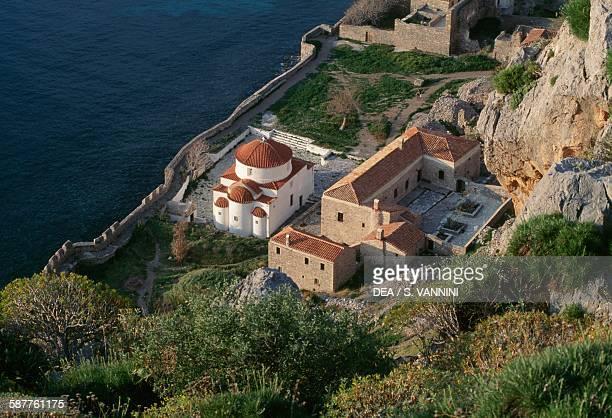 Church of Panagia Chryssafitissa in Monemvasia Peloponnese Greece 17th century