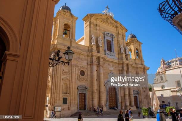 marsala, sicily, italy - october 17, 2019: church of purgatorio - finn bjurvoll ストックフォトと画像
