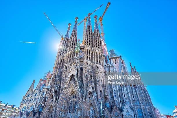 Church of Sagrada Familia in Barcelona