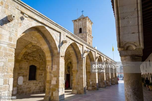 church of saint lazarus, larnaca - insel zypern stock-fotos und bilder