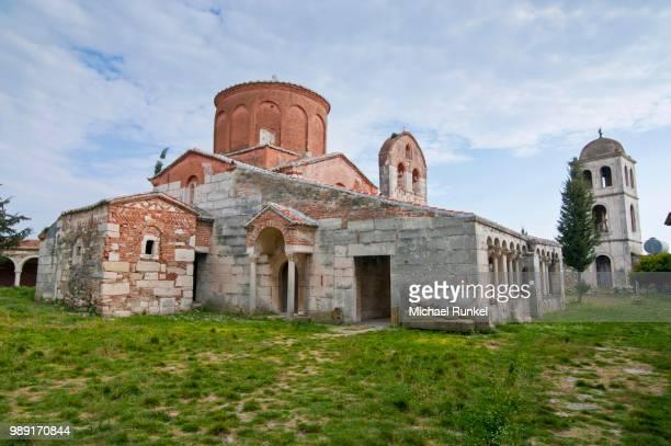 Church of Saint Mary, Roman ruins, Apollonia, Albania
