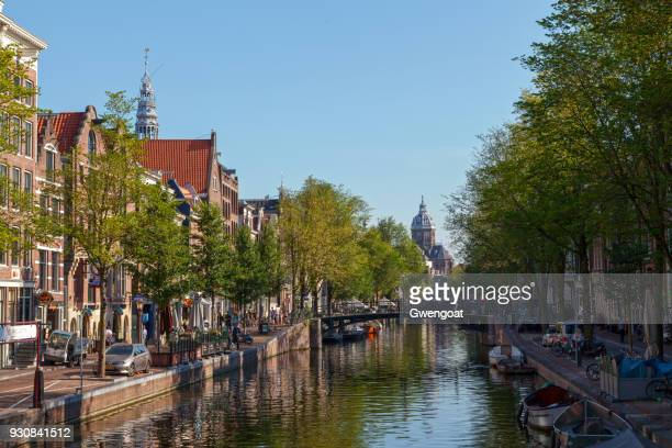 church of saint nicholas in amsterdam - gwengoat stock pictures, royalty-free photos & images