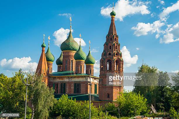 Church of Saint Nicholas the Miracle Worker, Yaroslavl', Russia