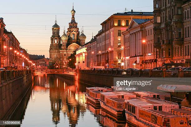 church of saint petersburg - russia stock pictures, royalty-free photos & images