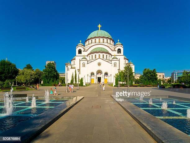 Church of Saint Sava in Belgrade, Serbia