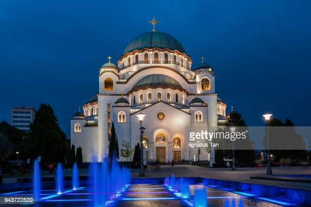 Church of Saint Sava in Belgrade, Serbia