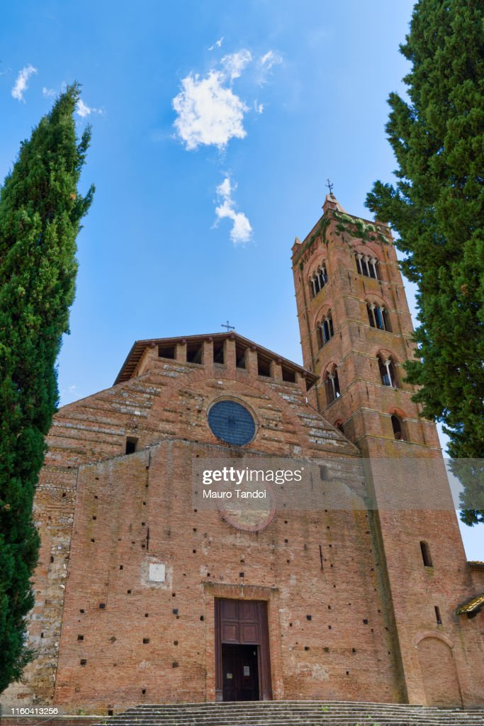 Church of San Clement in Santa Maria dei Servi, Siena, Tuscany, Italy : Foto stock