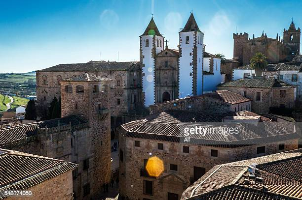 Church of San Francisco Javier in Caceres, Spain
