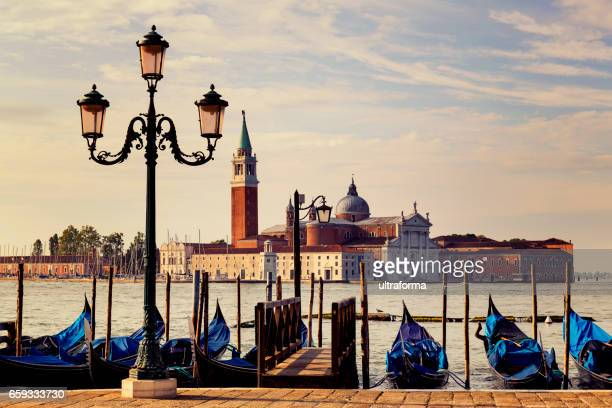 Church of San Giorgio Maggiore in Venice at sunrise