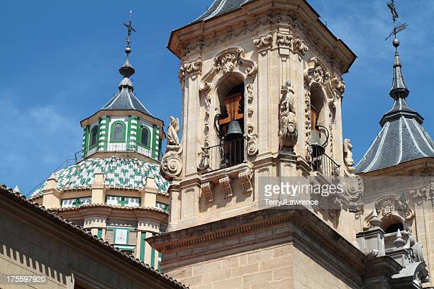 church of san juan de dios, granada, spain - granada spain stock pictures, royalty-free photos & images