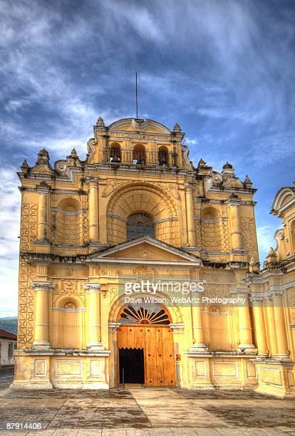 church of san pedro, antigua - dave wilson webartz stock pictures, royalty-free photos & images