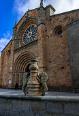 Church of San Pedro in Avila, Spain