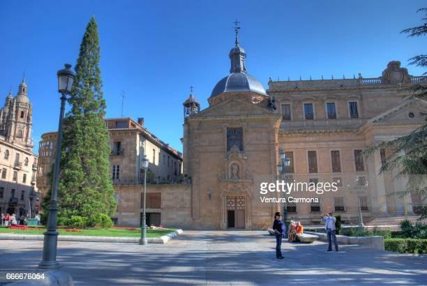 church of san sebastián - salamanca, spain - geschichtlich stock pictures, royalty-free photos & images