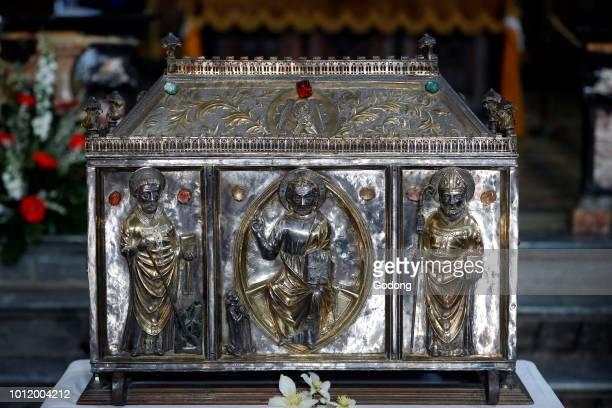 Church of Sant Orso Saint Ursus of Aosta Reliquary Aosta Italy
