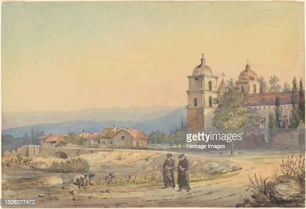 Church of Santa Barbara, late 19th century. Artist Unknown.