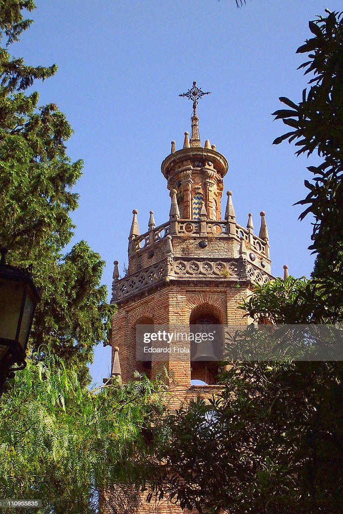 Church of Santa Maria la Mayor in Ronda : Stock Photo