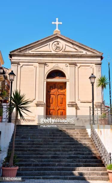 church of santa maria of porto salvo - レッジョカラブリア ストックフォトと画像