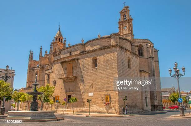 church of santiago - jerez de la frontera - jerez de la frontera fotografías e imágenes de stock