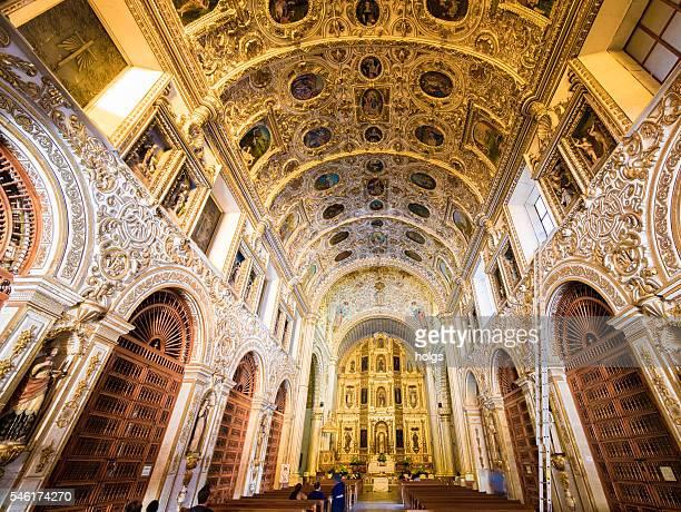 Church of Santo Domingo de Guzman in Oaxaca, Mexiko