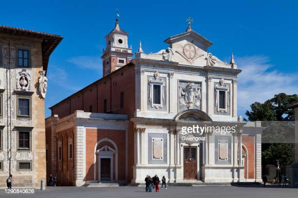 church of santo stefano dei cavalieri in pisa - gwengoat stock pictures, royalty-free photos & images