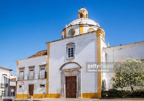church of sao francisco tavira - tavira imagens e fotografias de stock
